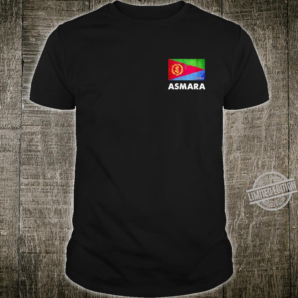 Asmara Eritrea Flag Shirt Asmara Shirt