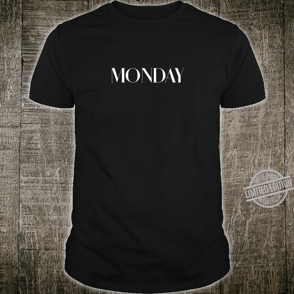 Casual Wochentag Outfit für Arbeit Schule Gym Montag Shirt