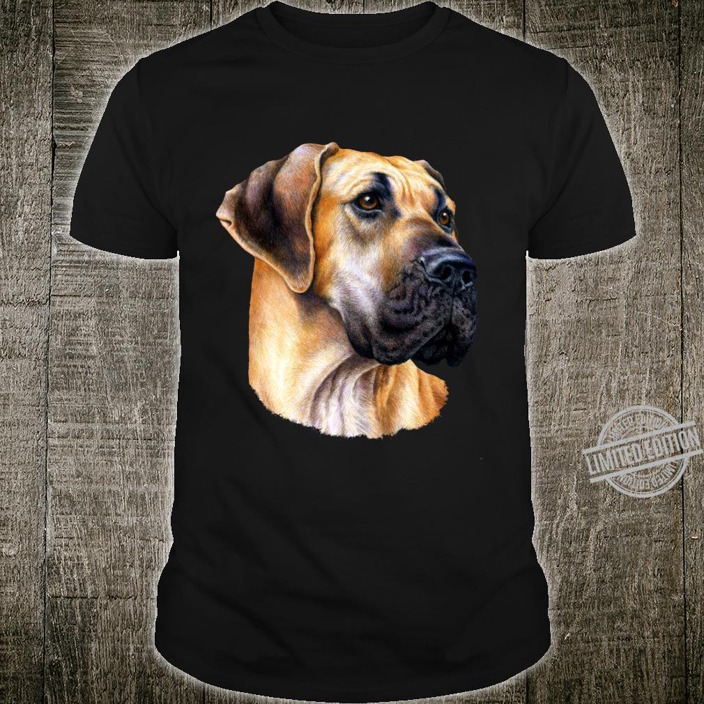 Great Dane Face Cool dog Shirt