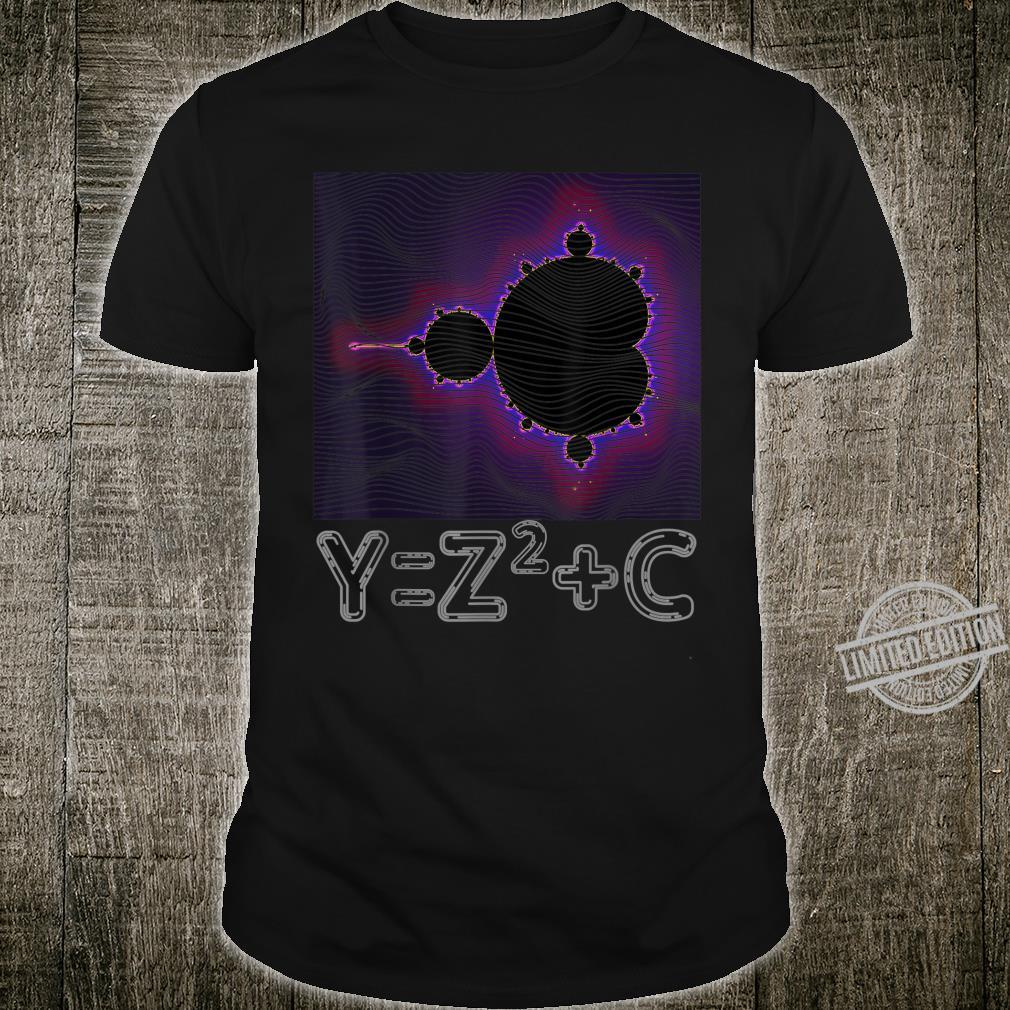 Mandelbrot Fractal Complex Numbers Equation Retro Math Shirt